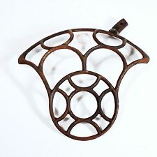 Treadle Sewing Machine Cast Iron Home Decoration Wall Art Flywheel Guard Part