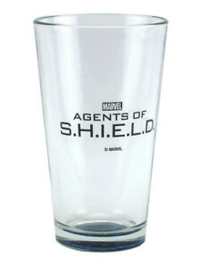 Agents Of Shield 16oz Pint Glass Tumbler 2014 SSCC San Diego Comic Con Exclusive