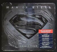OST - Hans Zimmer ‎– Man Of Steel - Limited Deluxe Edition US CD SEALED
