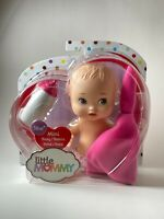 Fisher Price Little Mommy Mini Baby Doll With Fuchsia Blanket FLB37 NEW