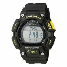 Casio Men STL-S110H-1CCF Tough Solar Runner Digital Black Watch
