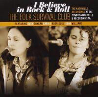 The Folk Survival Club - I Believe in Rock & Roll (2012)  CD  NEW  SPEEDYPOST