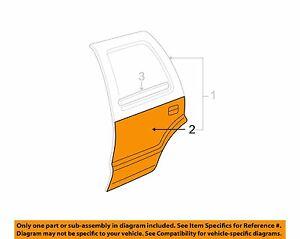 Chevrolet GM OEM 02-06 Trailblazer-Door Outer Panel Left 15189769 **SALE**