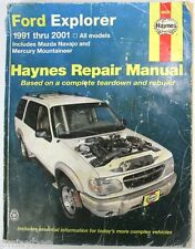 Haynes Repair Manual #36024 1991 - 2001 Ford Explorer, Mazda Navajo, Mountaineer