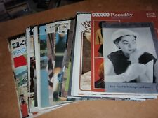 Job Lot of 40 Vintage Adult's Knitting patterns  - Patons, Copley etc