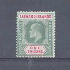 Leeward è 1908 1/- Mult CORONA ca sg.35 MH
