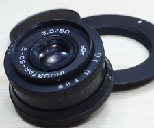 INDUSTAR 50-2 3,5/50 for NIKON AF and M42 MADE IN USSR good condition