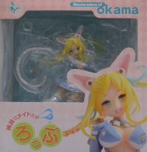 Used Aoshima Funny Knights Masterpiece Of Okama Roppu 1/8 PVC figure From Japan