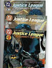 JUSTICE LEAGUE: MIDSUMMER'S NIGHTMARE #1-3 COMPLETE MINI-SERIES