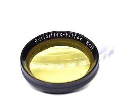 Rollei Rolleiflex Filter Hell gelb Aufsteckfassung 30mm