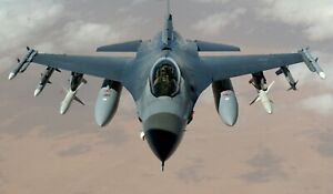 F 16 Air Force Airplane  HD POSTER