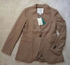H&M Giuliva Heritage HM  Single-breasted Camel Jacket Size 12 EU 40