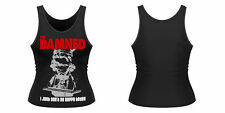The Damned - I JUST CAN'T BE HAPPY TODAY Ladies Tank Vest - Official