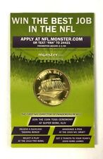 SUPER BOWL XLIII TAMPA BAY MONSTER.COM NFL PROMOTIONAL COLLECTORS TOSS COIN