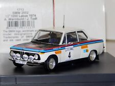 BMW 2002 #4 WARMBOLD 1000 LAKES RALLY 1974 TROFEU 1713 1:43