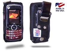 Turtleback Motorola i465 Clutch Fitted Nylon Phone Case with Metal Belt Clip