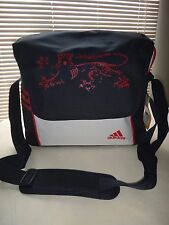 ADIDAS  SHOULDER BAG SACS MESSENGER BLUE (DARK NAVY) RED WHITE~ADIDAS LOGO~NEW