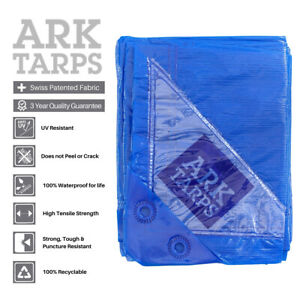 All Purpose Medium Duty XF Tarp - 100% Waterproof Guarantee - Multiple Sizes