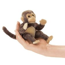 MINI MONKEY Finger Puppet #2738 ~FREE SHIPPING in USA ~ Folkmanis Puppets