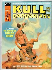 Curtis KULL AND THE BARBARIANS #2 - - VF 1975 Vintage Magazine
