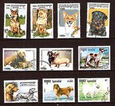 CAMBODGE  Les differentes races de chiens   97M-234T5