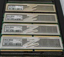 OCZ 8GB (4 X 2GB) DDR2 PC2-8500 1066Mhz DESKTOP MEMORY OCZ2P10664GK