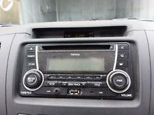 TOYOTA HILUX STEREO/HEAD UNIT SINGLE DISC CD PLAYER (P/N ON FACE 22840), 03/05-0