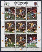 Paraguay 1982 fútbol WM Soccer españa FIFA World Cup 3490 Klein arco ** mnh