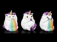 Lustige Einhörner Figuren Pukicorns - Regenbogen kotzendes Einhorn Geschenk