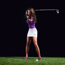 BEAUTIFUL GOLF CHANNEL REPORTER HOLLY SONDERS  8X10 PHOTO W/BORDERS