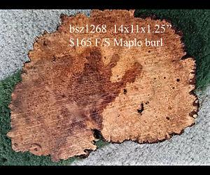 Redwood Burl Source Live edge Maple burl | trophy mount | craft woods | bsz1268