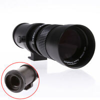 Zoom Telephoto Lens 420-800mm f/8.3-16 + T2 to Canon EOS Adapter F 5D III 7D 60D