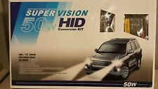 NEW Xenon HID Conversion Kit 50W Single Beam Light  Super Vision Headlamp TS