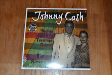 Johnny Cash, Ballad of a Teenage Queen/Big River, Sleazy Records, SEALED