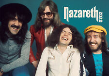 2020 Wall Calendar [12 page A4] NAZARETH Vintage Music Photo Poster 3126