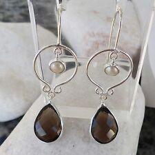 Echte Perlen-Ohrschmuck mit Hakenverschluss für Damen