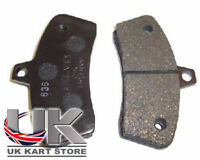 Black Gillard Brake Pad Set UK KART STORE