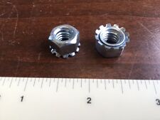 """5/16""""-18 Coarse KEPS Nut / Star Nut with Ext Tooth Lockwasher Zinc Pk 100 lock"""