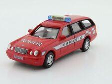 Blechspielzeug Schuco Feuerwehrauto Mercedes Benz E-Klasse 1:66