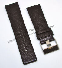Comp. Diesel DZ4290 DZ1148 DZ4281 - 26mm Brown Genuine Leather Watch Strap Band