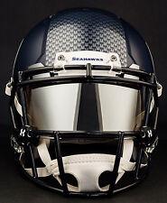 SEATTLE SEAHAWKS NFL Football Helmet with MIRROR Visor