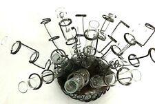 Vase Sculpture  FlowerHolder Holder Flask Beaker Bud Holders Beaker  Glass