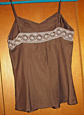 ABERCROMBIE AND FITCH Embellished Cami, Size M