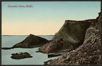 Argyll & Bute - Staffa - Clamshell Cave - Vintage Colour Printed Postcard