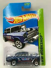 Hot Wheels 2014 Super Treasure Hunt 55 Chevy Bel Air Gasser VVHTF! Protecto