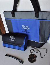 PAUL SIMON Exclusive VIP Tour Merchandise -  Blanket Wristband Tote Bag Laminate