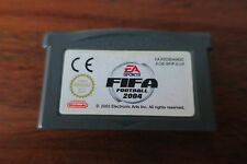 FIFA FOOTBALL 2004          ---   pour GAME BOY ADVANCE
