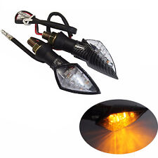 2x LED Turn Signals Light Indicators Amber Motorcycle 4 Hyosung GT250R GT650R