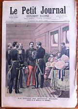 Le petit Journal 27/05/1893; Le retour du général Dodds, Médaille du Dahomey
