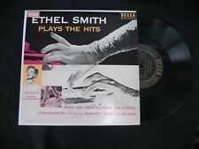 """ETHEL SMITH -PLAYS THE HITS 'APRIL IN PORTUGAL'- MADE IN USA 10"""" LP JAZZ / ORGAN"""